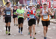 Many Runners Competing in Comrades Ultra Marathon Stock Photo