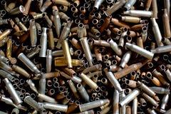 Many rusty bullets Royalty Free Stock Photo