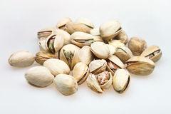 Many salted pistachio nuts Royalty Free Stock Image