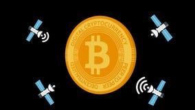 Satellite and bitcoin