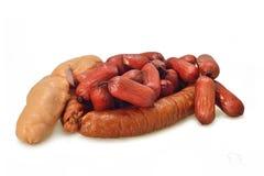Many sausage Stock Photos