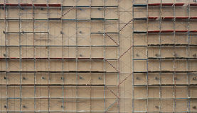 Many scaffolding Stock Image