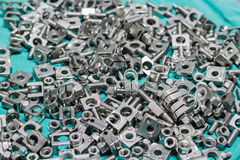 Many screw Royalty Free Stock Image