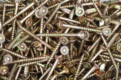 Many screws Royalty Free Stock Photos