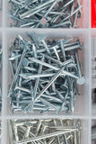 Many screws Royalty Free Stock Photography