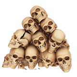 Many skulls Royalty Free Stock Images