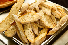 Many slices bread Stock Image