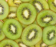 Many slices of kiwi fruit Royalty Free Stock Images