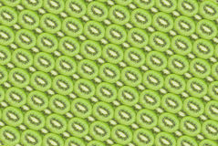 Many slices of kiwi fruit texture as background. Fresh and ripe slices of kiwi fruit, great summer wallpaper background Stock Photos