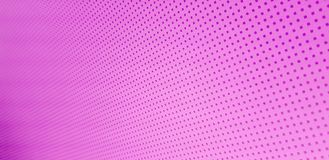 Many small dark purple suare dots line on pink background. Texture royalty free stock photo