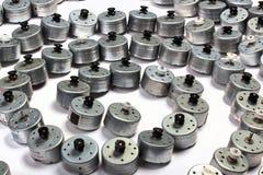 Many small electric motors royalty free stock photos