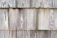 Many small pieces of wood rectangular shape arrange into layers Stock Photos