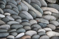 Many small stones fill in the picture royalty free stock images