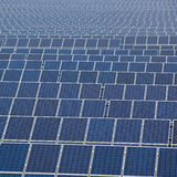 Many Solar Panels Royalty Free Stock Photo