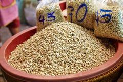 Many soy bean Stock Photo