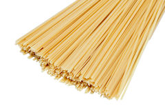 Many spaghetti prepared for cooking Royalty Free Stock Image