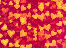 Many speckled hearts backgrounds Royalty Free Stock Photos