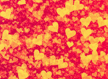 Many speckled hearts backgrounds Royalty Free Stock Photography