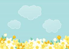 Spring floral background Stock Photography