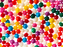Many sprinkles close up. On white background Stock Photo