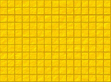 Many square golden tile pattern texture Stock Photography