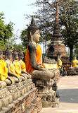 Many statues of Buddhas Royalty Free Stock Photography
