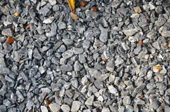 Many stone. On the road in the garden Royalty Free Stock Images