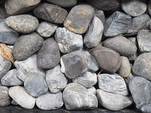 Many stones on the ground Stock Photography