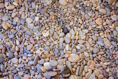 Many stones. Small stones on the seashore Royalty Free Stock Photo