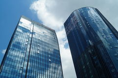 Many-storied buildings Royalty Free Stock Images