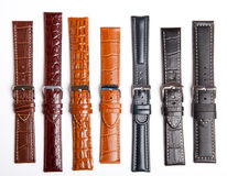 Many Straps On A Wristwatch Stock Image