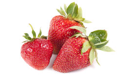 Many strawberry Stock Image