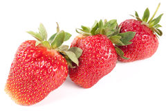 Many strawberry Stock Photo