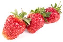 Many strawberry Stock Photo
