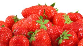 Many strawberrys Stock Photography