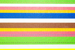 Many striped color texture Royalty Free Stock Photography