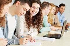 Students learning together Royalty Free Stock Photography