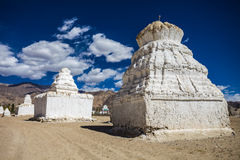 Many stupas Stock Photo