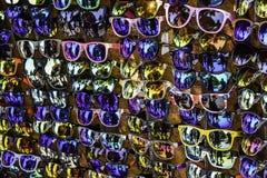 Many Sunglasses royalty free stock image