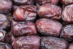 Many sweet dried dates Royalty Free Stock Photos