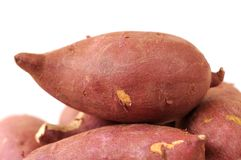 Many sweet potato Royalty Free Stock Photo