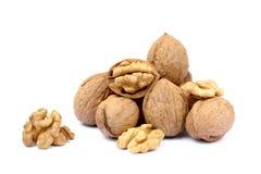 many table walnuts 免版税库存图片