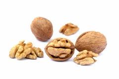 many table walnuts 库存图片