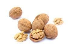 many table walnuts 库存照片