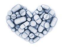Many tablets and vitamin Royalty Free Stock Photos