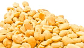 Many tasty peanuts Stock Photography