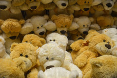 Many teddy bears for children. Featured many teddy bears for children stock photography