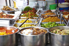 Many thaifood. Many thai food on table Royalty Free Stock Image
