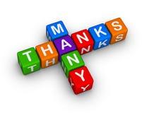 Many thanks Royalty Free Stock Photos