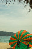 The many things to do and see at Patong Beach Thailand Stock Photos